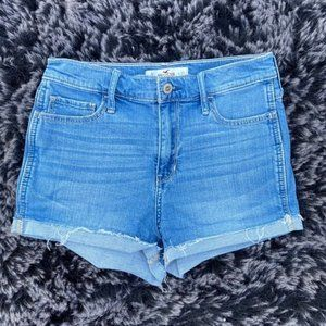 Hollister High Waisted Jean Shorts 27